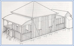 Fig 8. Kit Frame Home from the 1850's