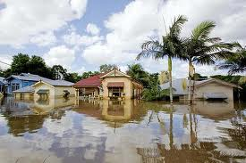 Fig 2. Qld flooded houses 2011